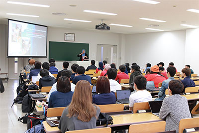 Management and Science University(MSU)の学生との交流会